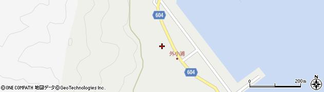 大分県佐伯市鶴見大字地松浦74周辺の地図