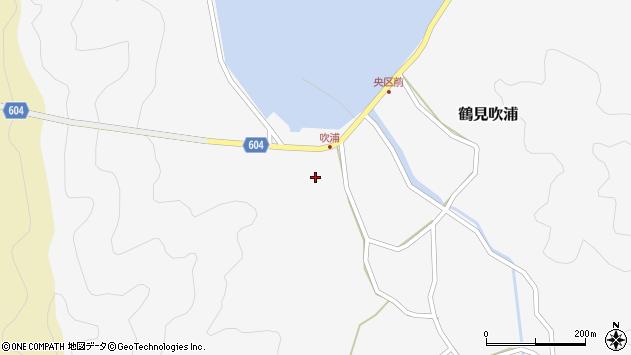 大分県佐伯市鶴見大字吹浦165周辺の地図
