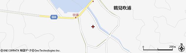 大分県佐伯市鶴見大字吹浦357周辺の地図