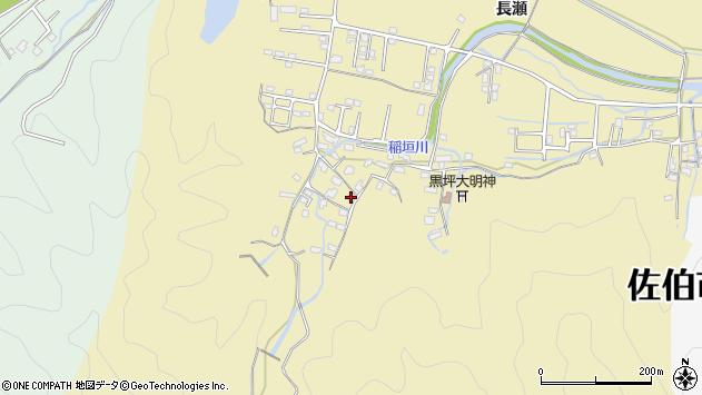 大分県佐伯市稲垣1262周辺の地図