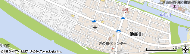 大分県佐伯市池船町27周辺の地図