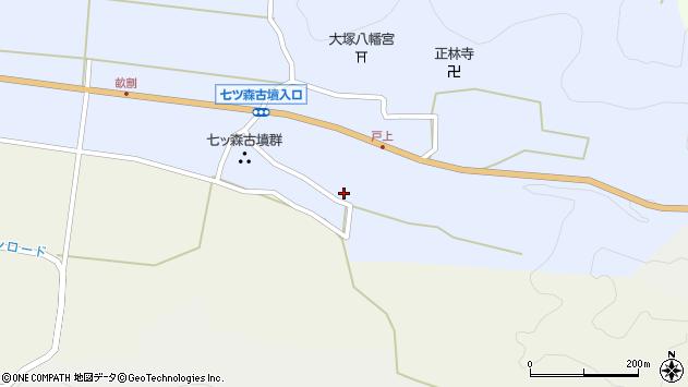大分県竹田市戸上245周辺の地図