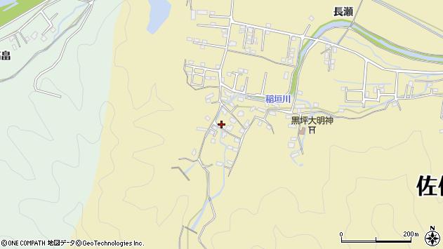 大分県佐伯市稲垣1275周辺の地図