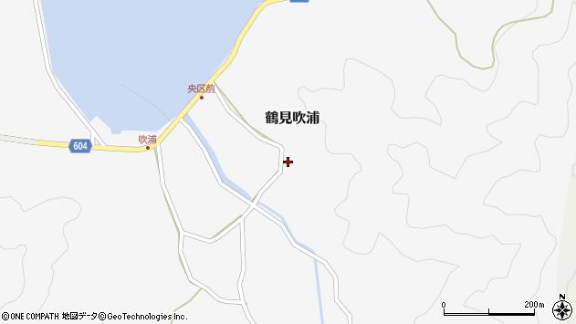大分県佐伯市鶴見大字吹浦1365周辺の地図