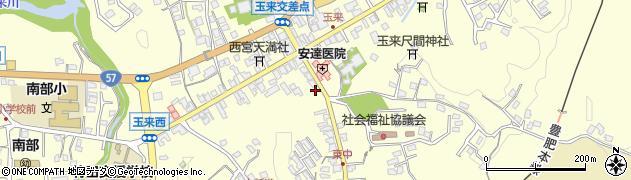 大分県竹田市玉来985周辺の地図