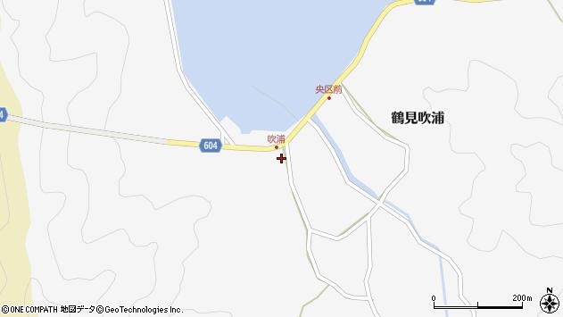 大分県佐伯市鶴見大字吹浦141周辺の地図