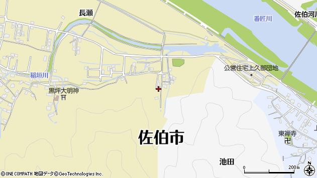 大分県佐伯市稲垣2026周辺の地図