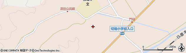 大分県佐伯市弥生大字門田1793周辺の地図