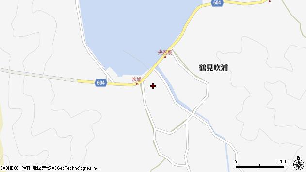 大分県佐伯市鶴見大字吹浦146周辺の地図