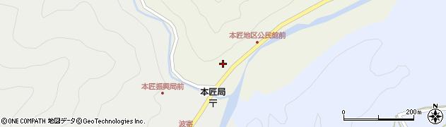 大分県佐伯市本匠大字宇津々2001周辺の地図
