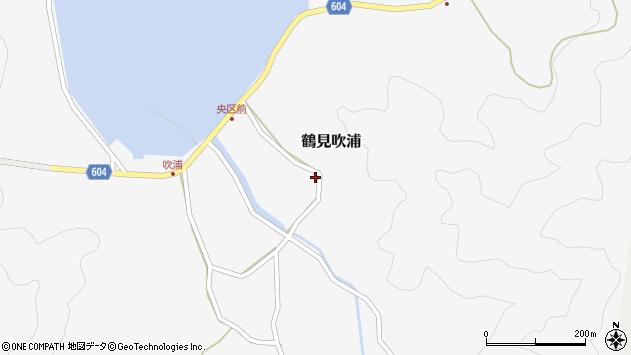 大分県佐伯市鶴見大字吹浦1972周辺の地図