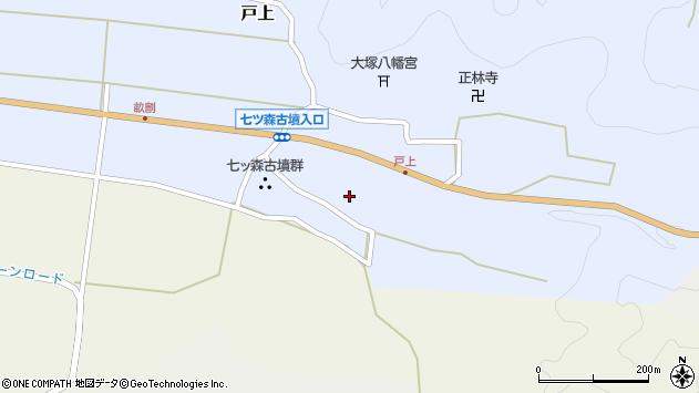 大分県竹田市戸上247周辺の地図