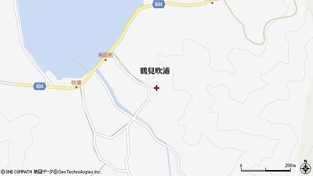 大分県佐伯市鶴見大字吹浦1439周辺の地図