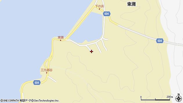 大分県佐伯市9612周辺の地図