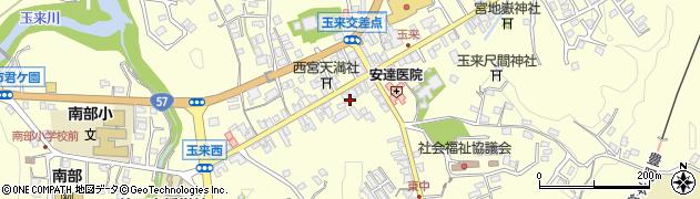 大分県竹田市玉来993周辺の地図