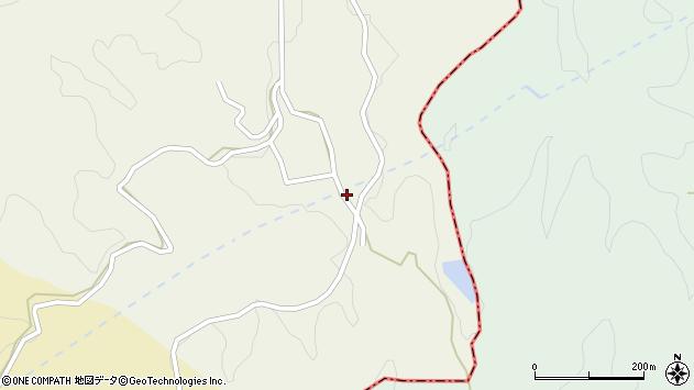 大分県竹田市片ケ瀬126周辺の地図