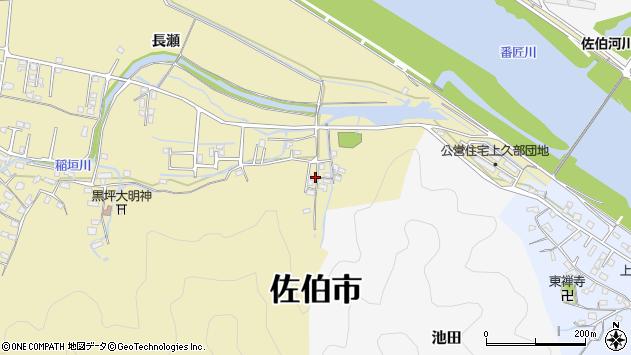 大分県佐伯市稲垣2020周辺の地図