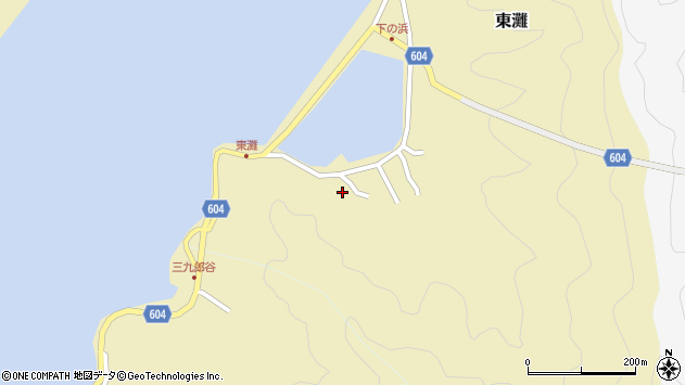 大分県佐伯市9622周辺の地図