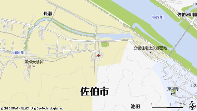 大分県佐伯市稲垣2081周辺の地図