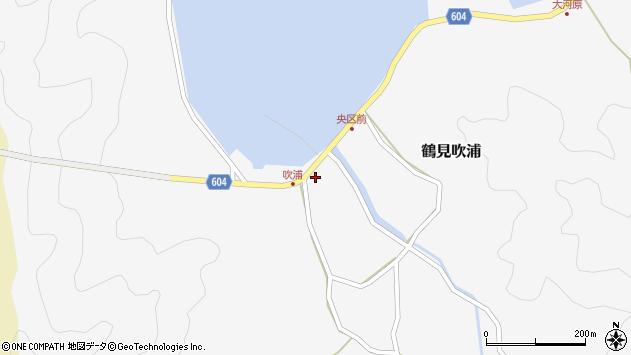 大分県佐伯市鶴見大字吹浦1973周辺の地図
