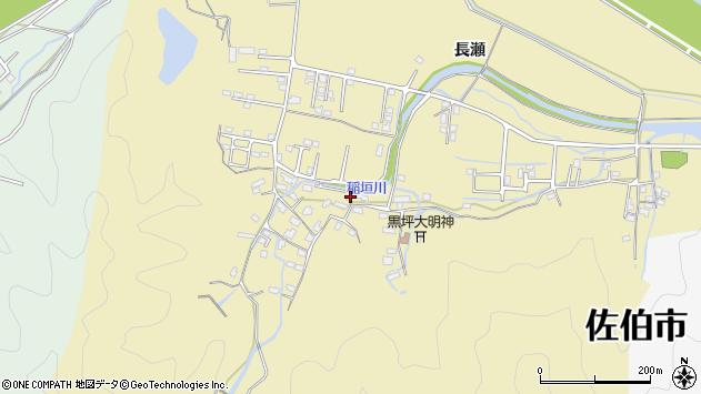 大分県佐伯市稲垣1355周辺の地図