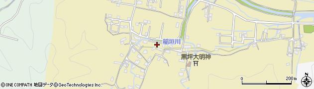 大分県佐伯市稲垣1026周辺の地図