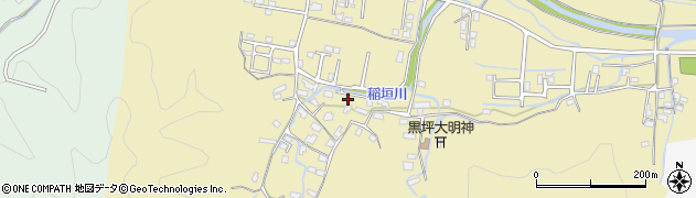 大分県佐伯市稲垣1361周辺の地図