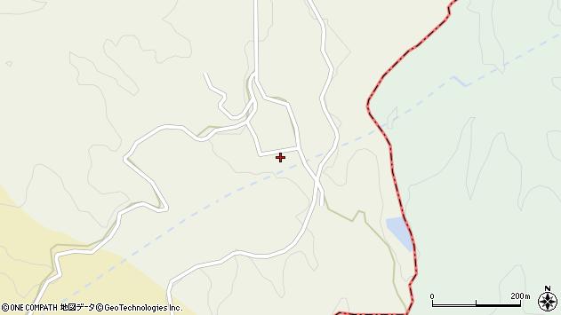 大分県竹田市片ケ瀬1469周辺の地図