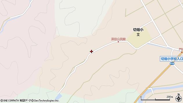 大分県佐伯市弥生大字門田1999周辺の地図