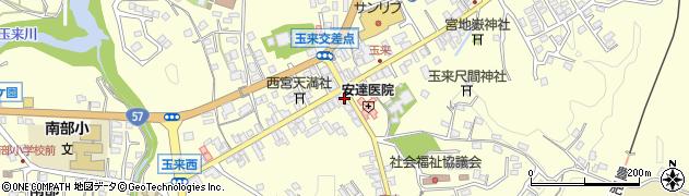 大分県竹田市玉来983周辺の地図