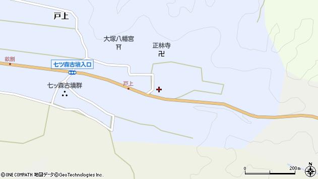 大分県竹田市戸上719周辺の地図