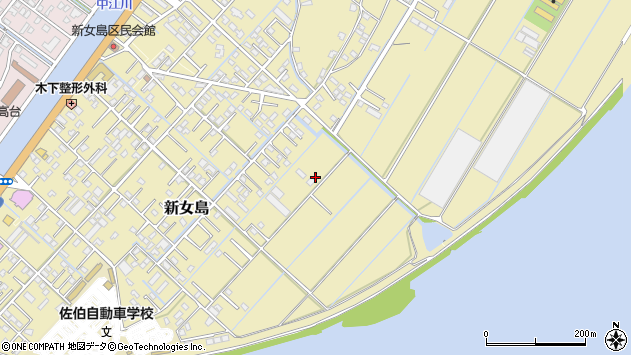 大分県佐伯市7444周辺の地図