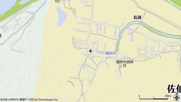 大分県佐伯市稲垣1130周辺の地図