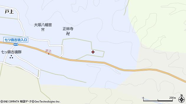 大分県竹田市戸上740周辺の地図