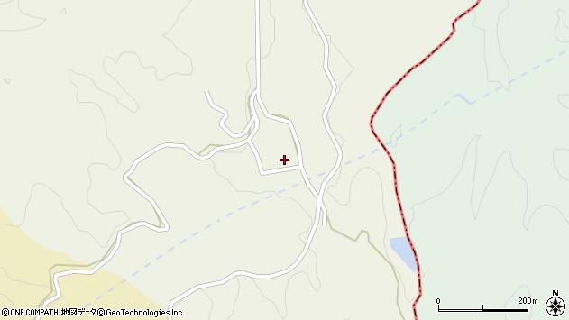 大分県竹田市片ケ瀬1465周辺の地図