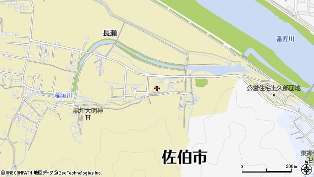 大分県佐伯市稲垣1839周辺の地図