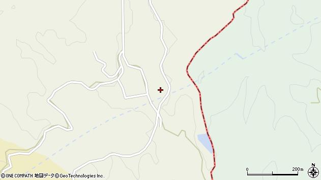 大分県竹田市片ケ瀬137周辺の地図