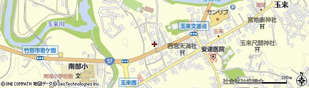大分県竹田市玉来776周辺の地図