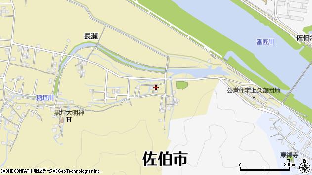 大分県佐伯市稲垣1827周辺の地図