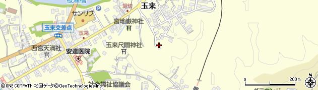 大分県竹田市玉来568周辺の地図