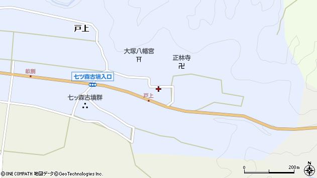 大分県竹田市戸上685周辺の地図