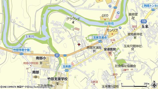 大分県竹田市玉来774周辺の地図