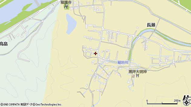 大分県佐伯市稲垣1115周辺の地図