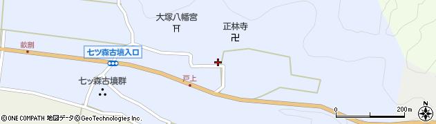大分県竹田市戸上689周辺の地図