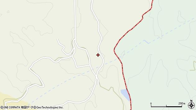 大分県竹田市片ケ瀬138周辺の地図