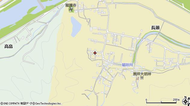 大分県佐伯市稲垣1104周辺の地図