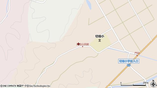 大分県佐伯市弥生大字門田2033周辺の地図