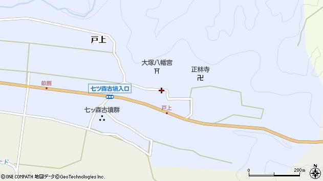 大分県竹田市戸上669周辺の地図