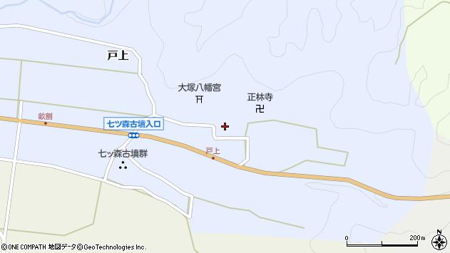大分県竹田市戸上691周辺の地図