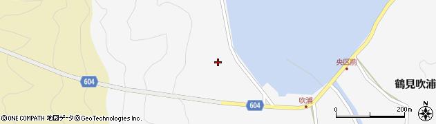 大分県佐伯市鶴見大字吹浦53周辺の地図